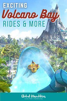 Volcano Bay Rides Solo Travel, Travel Usa, Travel Tips, Universal Orlando, Universal Studios, Family Road Trips, Family Travel, Best Amusement Parks, Volcano Bay
