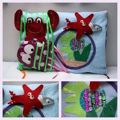 Tuto du tapis d'éveil en 9 coussins : la mer Couture pour enfant, Tutos / DIY - Isastuce