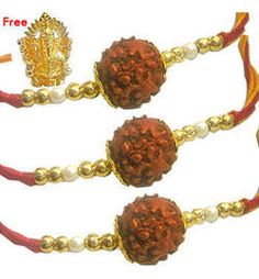 In Rakhi festival, there are many rakhis varieties you get to find in the market include designer rakhi, fancy rakhi, auspicious rakhi, mauli rakhi, pearl rakhi, zardosi rakhi and more beautiful rakhi but Rudraksha Rakhi can be gifted to any age group people. It is beautifully decorated with the small and big Rudraksha in the middle posting and it is a perfect choice for your lovely brothers.