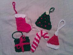 Ravelry: Candy Cane Christmas Ornament Crochet Pattern pattern by Niki Wyre