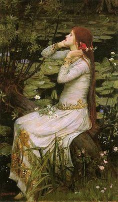 Ophelia J W Waterhouse