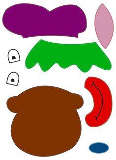 Het gezicht van Zwarte Piet