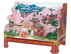 tatebanko - Japanese art of paper dioramas