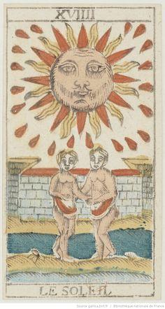 [Jeu de tarot à enseignes italiennes mis à la mode révolutionnaire] : [jeu de cartes, estampe] / F. I. -- 1794 -- images