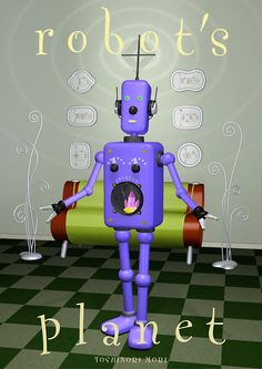 It is a radio robot