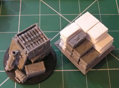 Battlefield clutter or objective marker.