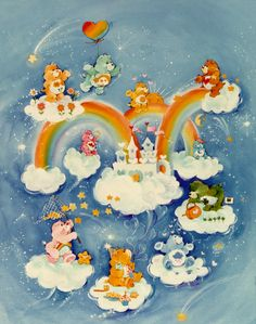 The REAL Care Bears.