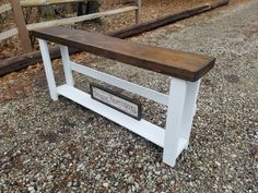 Rustic Accent Table, Rustic Console Tables, Entryway Tables, Rustic Furniture, Outdoor Furniture, Outdoor Decor, Custom Woodworking, Your Favorite, Coloring