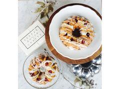 爽やかで見た目もキュートなアメリカの伝統的スイーツバントケーキ