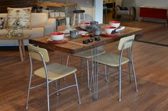 Extension Dining Table  Eating In Style With This by WickedBoxcar, £830.00