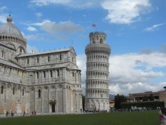 Leaning Tower of Pisa, Tuscany. To learn more about the places to visit in Tuscany visit: http://www.pietrafittaimports.com/explore-tuscany