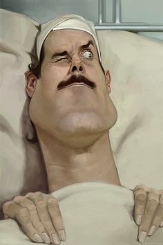 John Cleese caricature. i love this one!