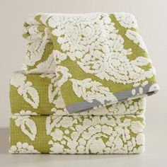 WorldMarket.com: Bliss Paisley Sculpted Bath Towel Collection $8.99