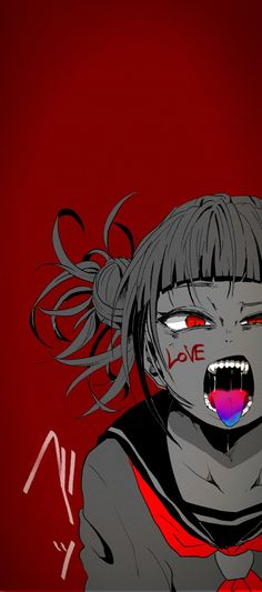Himiko Toga - My Hero Academia Deku Anime, Yandere Anime, Chica Anime Manga, Kawaii Anime, Hero Academia Characters, My Hero Academia Manga, Boku No Hero Academia, Animes Wallpapers, Cute Wallpapers