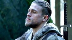 Charlie Hunnam 'King Arthur' Haircut