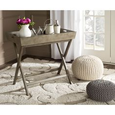 FREE SHIPPING! Shop Wayfair for Lark Manor Rouen Tray Table - Great Deals on all Furniture products with the best selection to choose from!
