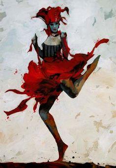 Red Masquerade - Bruce Holwerda