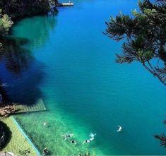 Lake Eacham: A full day on the Tablelands, near Cairns, Queensland, Australia. #campervan #travel #Australia