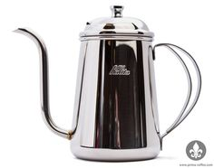The Kalita Thin Spout Kettle incorporates both beauty and functionality into a 700mL pouring kettle.