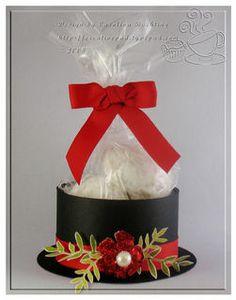 Snowman Hat treat box Tutorial - bjl