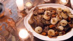 Épaule d'agneau au cari noir Quebec, Mets, Oatmeal, Christian Bégin, Breakfast, Recipes, Inspirer, Meat, Canadian Recipes
