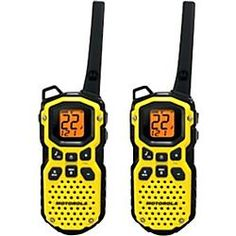 Motorola's Talkabout® is by no means a fair weather radio. On the contrary, it is a high performance, ultra durable waterproof radio t. Manchester United, Real Madrid, Barcelona, Weather Radio, Car Buying Tips, Two Way Radio, 2 Way, Camping Equipment, Cool Things To Buy