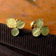 Hydrangea Flower Earrings