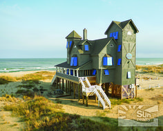 "Stay in the ""Inn at Rodanthe"" on your next Outer Banks vacation!The ""Inn at Rodanthe"" as it was named in the movie based on Nicholas Sparks popular novel, ""Nights In Rodanthe,"" starring Richard Gere and Diane Lane, is the most famous home on Hatteras Island. http://www.sunrealtync.com/house/r-51"