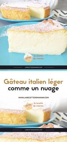 Gâteau italien léger comme un nuage – La Recette de maman