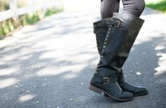 Studded Zip-Up Boots 40% off at Groopdealz