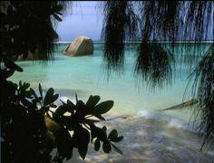 mar azul del caribe
