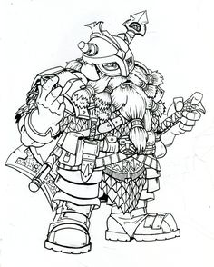 dwarf_warrior_on_break__by_dkuang.jpg (JPEG-bilde, 800 × 999 piksler) - Skalert (95 %)