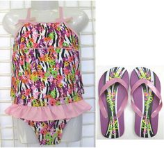 Girls Floral Tankini $7.99, available in sizes 4-6x {posted 4/24/13} #cititrends