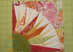 New York Beauty Quilt Along Week 4, Block 8 Tutorial on From the Blue Chair at http://www.fromthebluechair.com/2012/03/new-york-beauty-tutorial.html