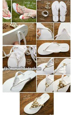 Decora tus sandalias