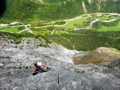 Fallbach Klettersteig Vorarlberg : Der fallbach klettersteig im klostertal moosbrugger climbing