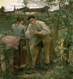 Rural Love, by Jules Bastien-Lepage
