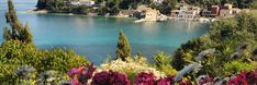 PAXOS- a tiny island that measures around from North to South is located south of Corfu and about off the Greek mainland. Stuff To Do, Things To Do, Beach Villa, Banner Images, Destin Beach, Corfu, Villas, Restaurants, Greek