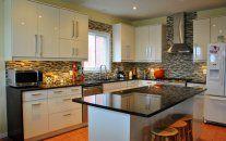 Coffee Brown Kitchen Granite Countertops