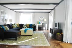 Sunroom flooring, rug & arrangement?