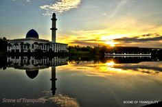 Scene of Tranquility: Uniten sunrise