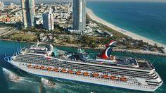 navio de cruzeiro entrar miami porto