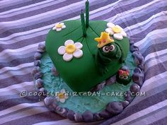 I wanted to say I love your website and it has really helped me with future cake ideas. I have attached some photos of the frog pond cake I made for my unc Cool Birthday Cakes, It's Your Birthday, Pond Cake, Frog Cakes, Cake Ideas, Website, Cool Stuff, Party, Desserts