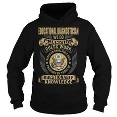Educational Diagnostician Job Title V1 #teeshirt #style. SAVE  => https://www.sunfrog.com/Jobs/Educational-Diagnostician-Job-Title-V1-Black-Hoodie.html?id=60505
