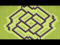 Clash of Clans - TH 7 Trophy Base/Clan Wars Base (ShockWave)