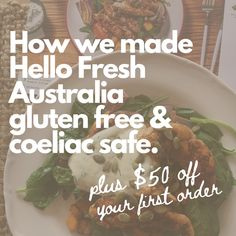 How to Make Your Hello Fresh Box Gluten Free and Coeliac Safe - Gluten free meal delivery is made safe and easy with this clever HelloFresh hack.