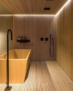 "660 tykkäystä, 8 kommenttia - Kourosh Ayat Official (@kourosh_ayat) Instagramissa: ""Nice wooden bathroom in a Triplex loft ""Casacor São Paulo"" designed by Adriana Helu , Carolina…"""