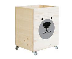 Nu op Veepee: Little nice things Kids Storage, Toy Storage, Storage Boxes, Little Nice Things, Kids Toy Boxes, Painted Wooden Boxes, Wooden Toy Boxes, Deco Kids, Wooden Projects