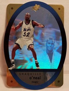 Shaq Oneal Basketball Card 1996 Gold SPx Orlando Magic Die Cut Holographic HOF #OrlandoMagic #forsale #shaqoneal #basketballcard #SPx #Gold #OrlandoMagic #ebay #NBA #sportscard #cardcollector #shaq #vintage #upperdeck #lakers #lalakers http://ow.ly/aN9L306Z4r7