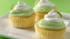 Make mini cakes for maximum satisfaction. Cake mix and ready-to-spread frosting make prep super easy.